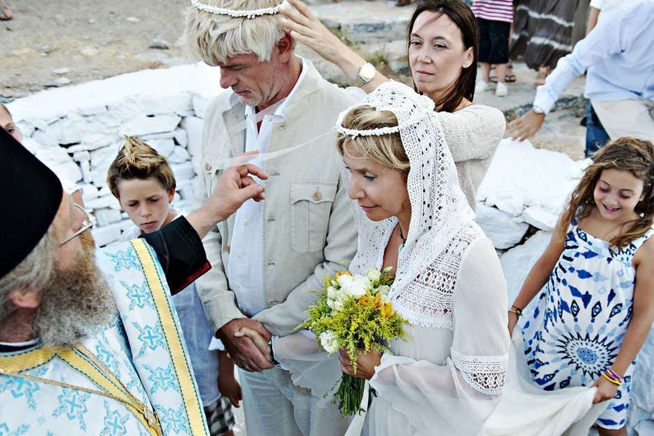 wedding ceremony in amorgos