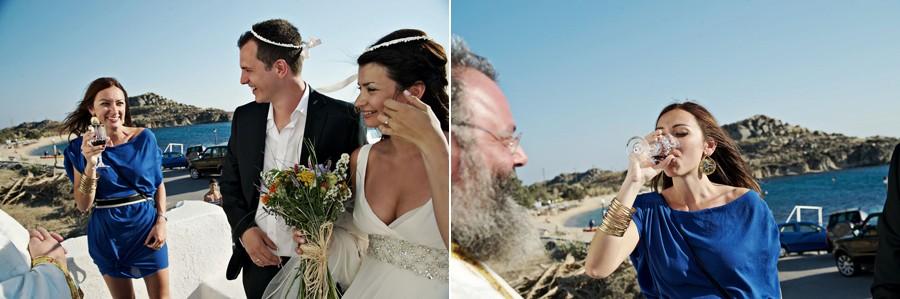 a wedding in mykonos photos