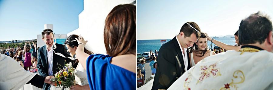 wedding in mykonos greece island