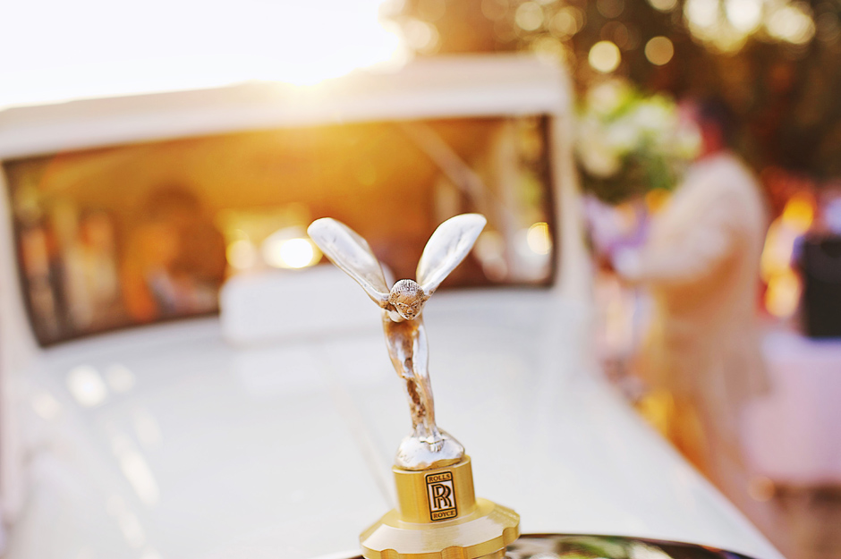 rolls royce classic car wedding