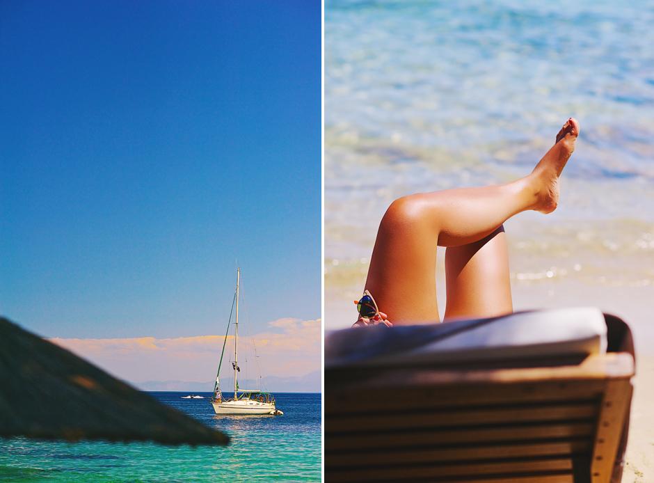 summer in greece photos