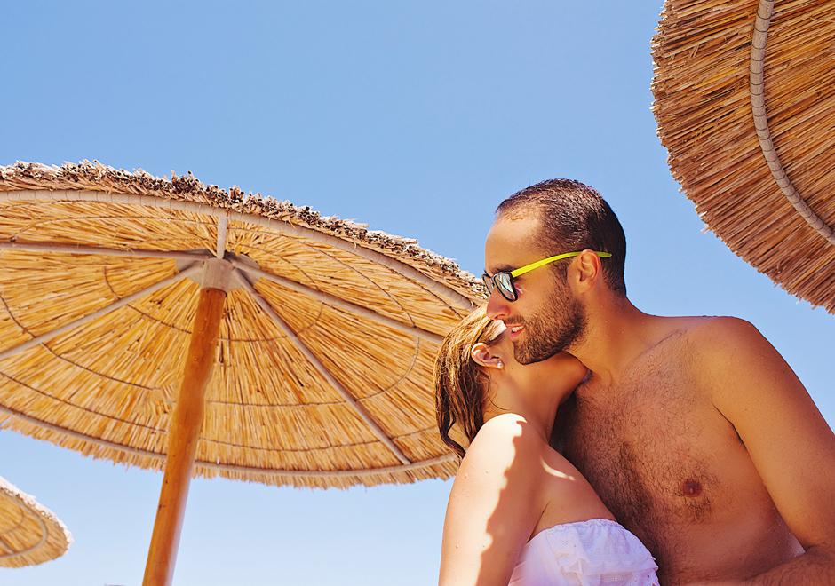 skiathos wedding beach party photos