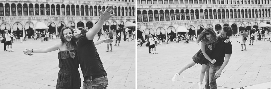 couple in st marc venice photos