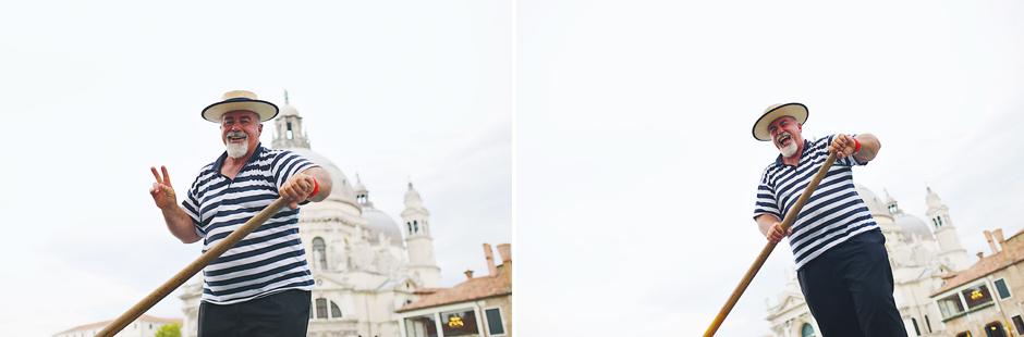 gondolier photos venice