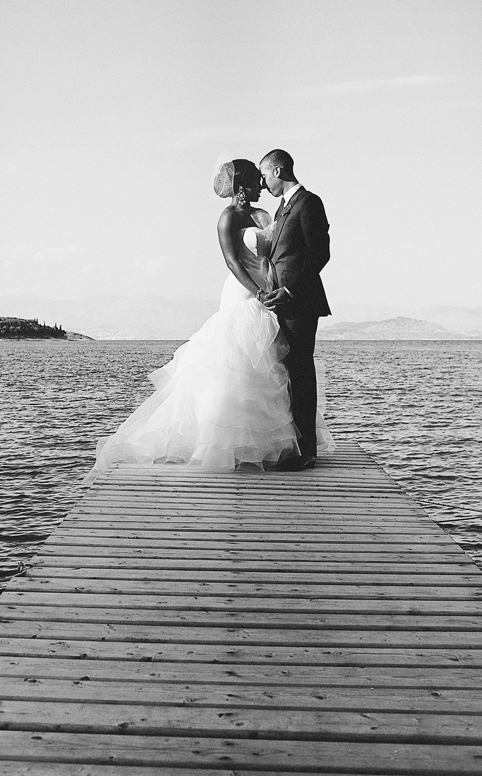 corfu greece wedding photos