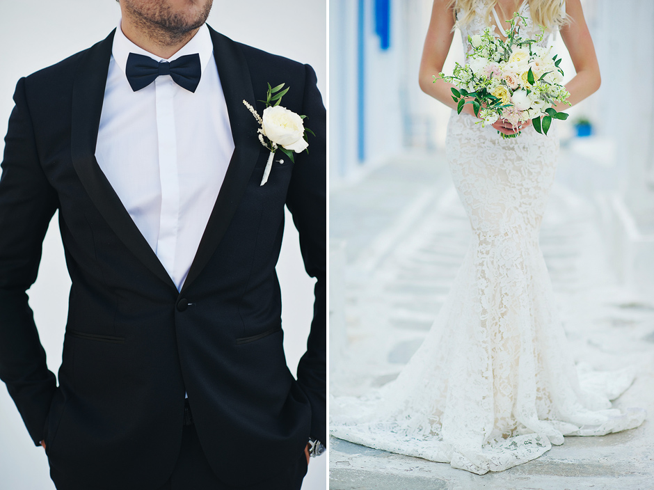 Mykonos Jewish Wedding Photos