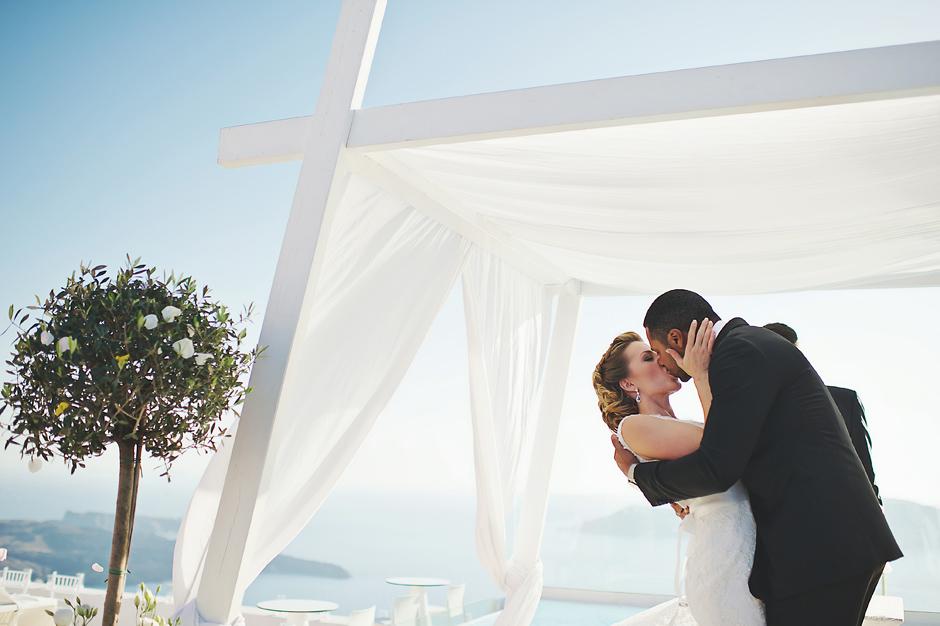 elopement photography in greek islands