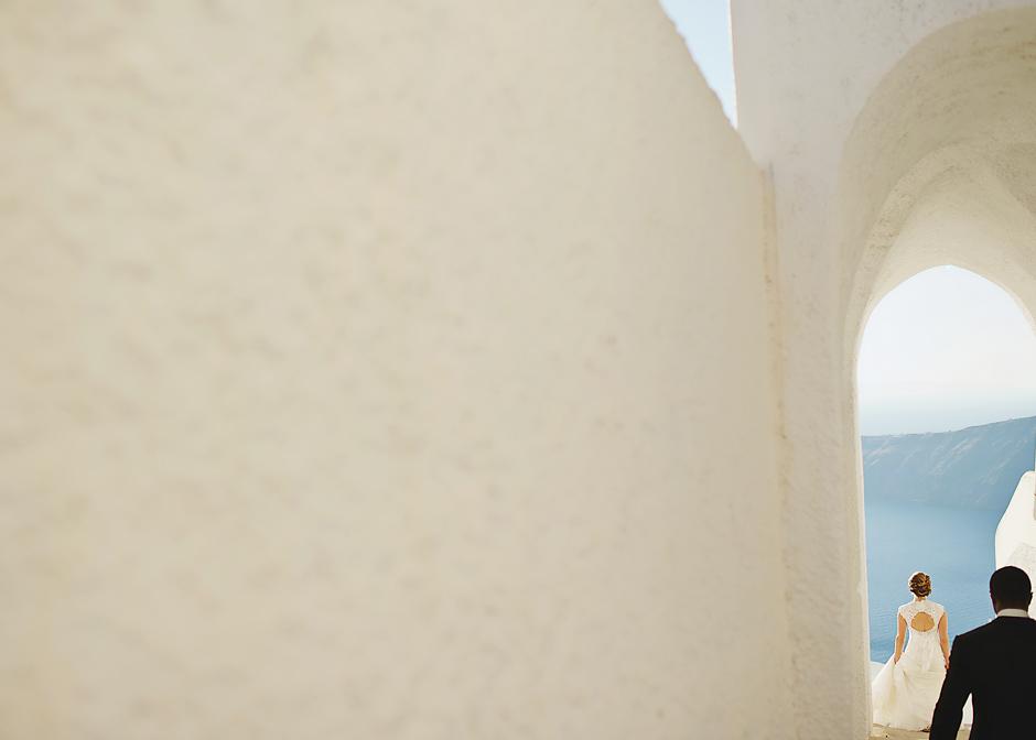 la maltese wedding santorini