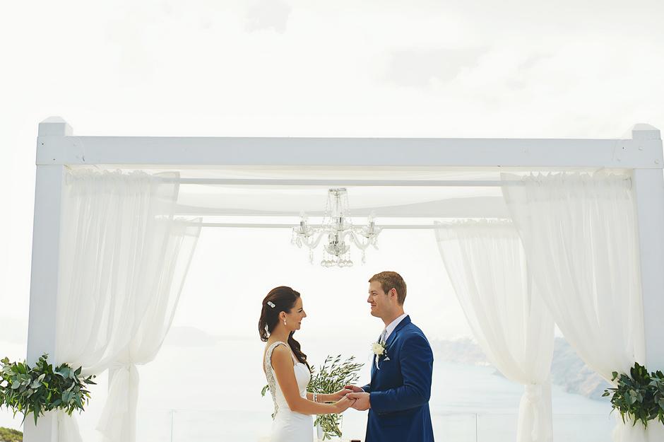 wedding in santorini oia photos