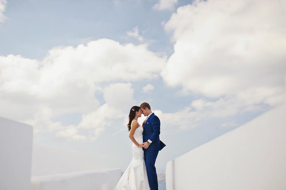 wedding in santorini oia