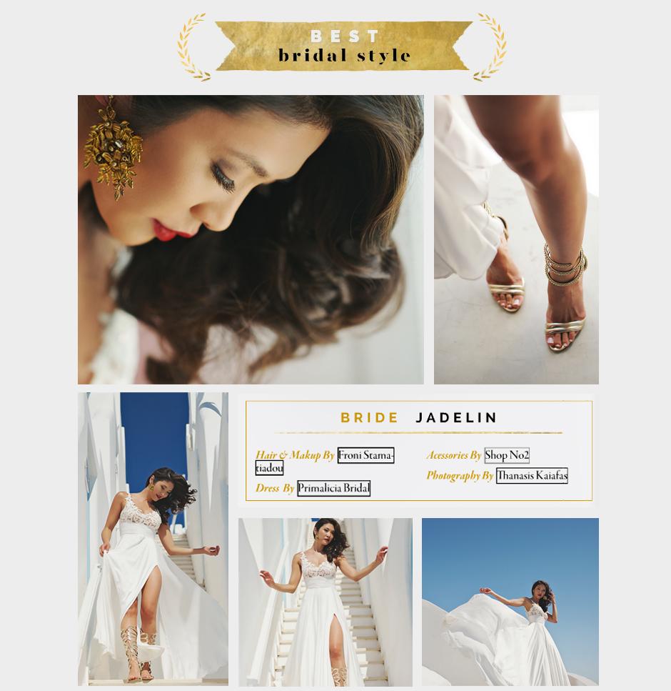 best bridal style award 2015