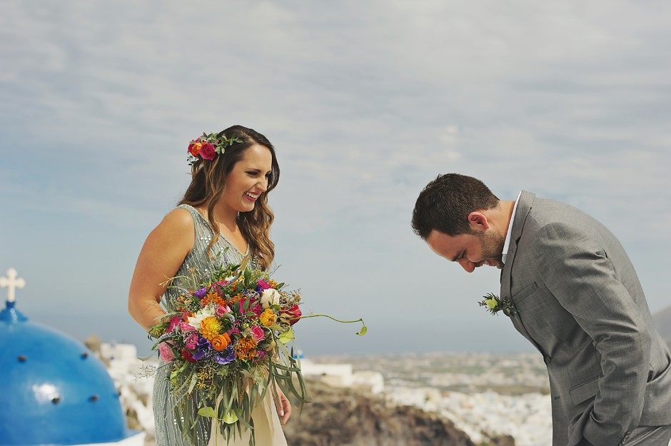 santorini elopement photographer
