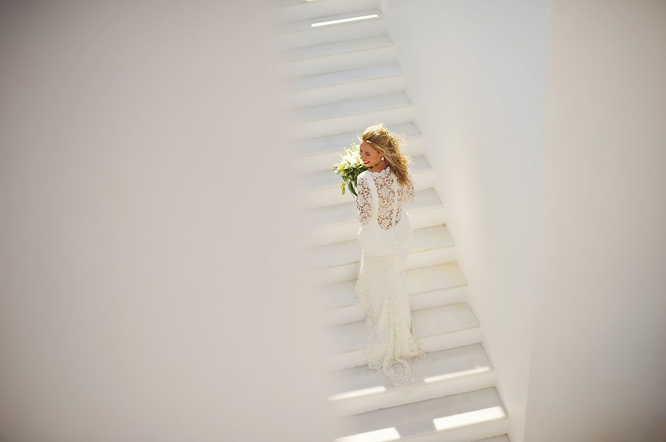 kirby with beautiful bridal dress
