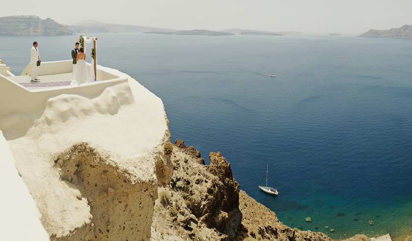 elopement in santorini canaves suites 20