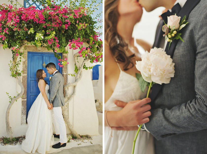 elopement in santorini canaves suites 27