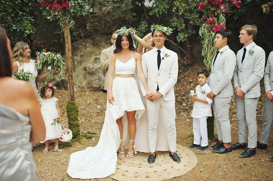 boho wedding bobniere