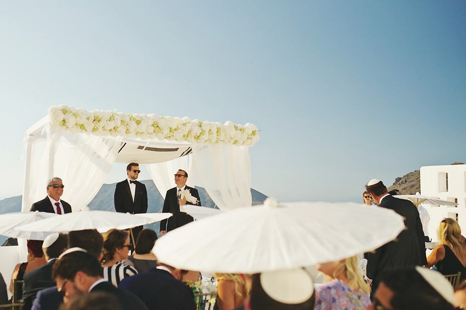 jewish wedding at rocabella santorini 37
