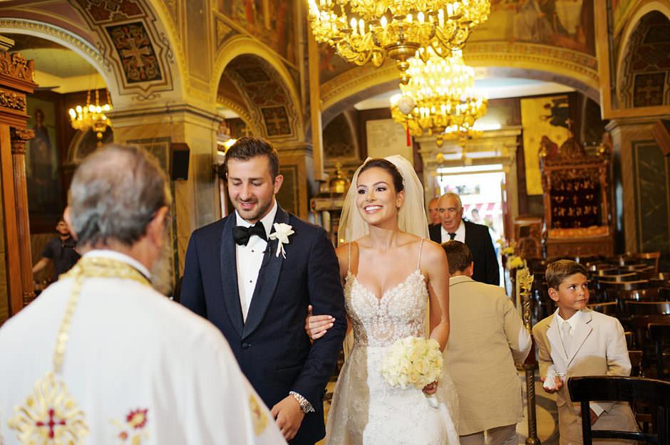 weddin ceremony in nafplio castle
