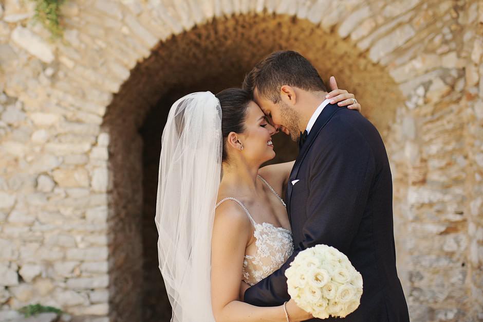 nafplio wedding with greek cuisine