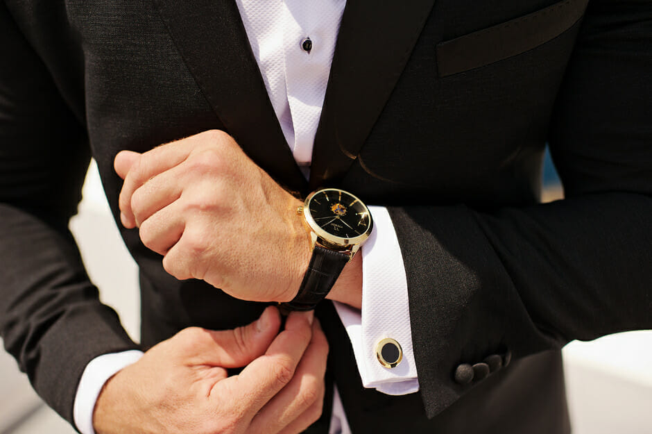 expensive watch wedding gift to groom