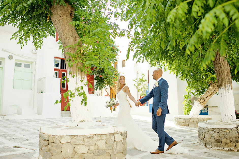 wedding in cyclades