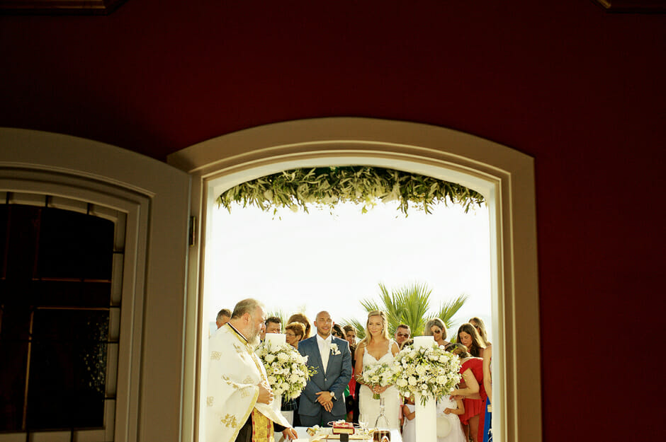 wedding in mykonos saint john hotel