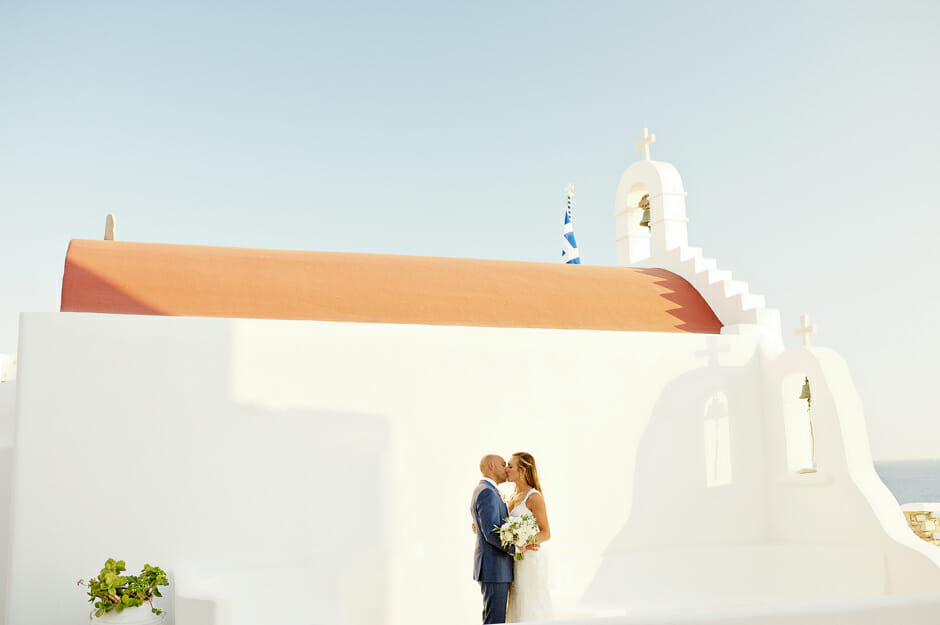honeymoon in cyclades, greece