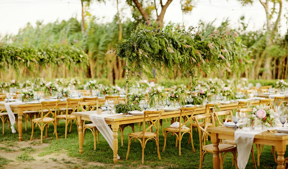 flower wedding decoration in athens riviera by Markos Machairopoulos