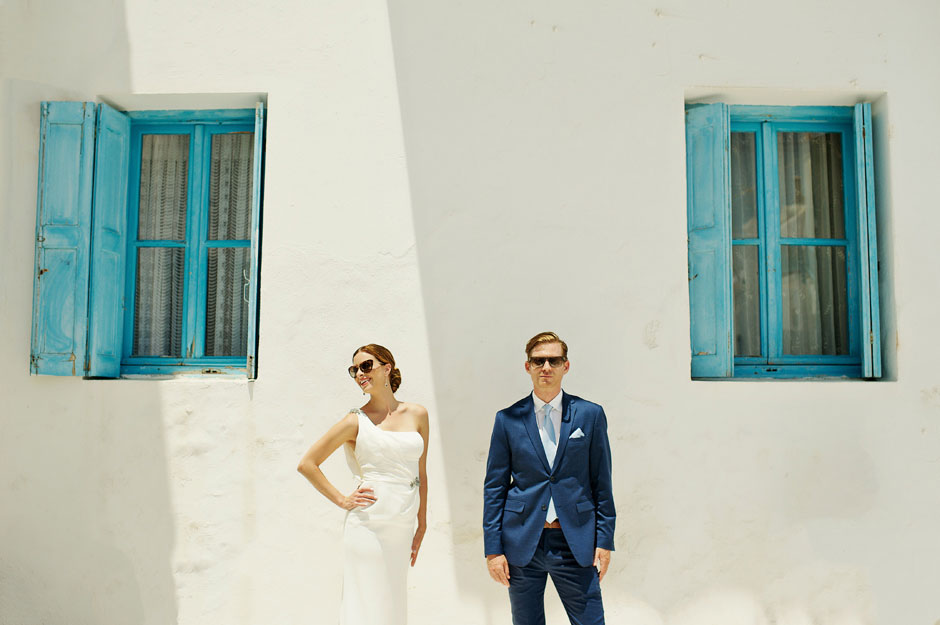 best elopement photo in greece mykonos