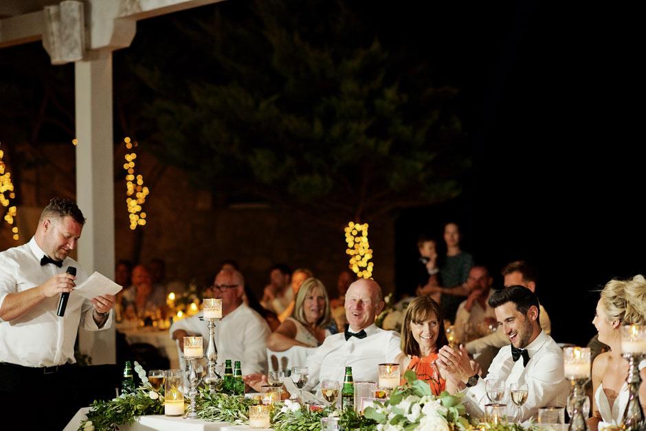 best man speech in mykonos wedding