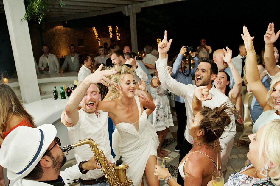 best wedding in mykonos photos