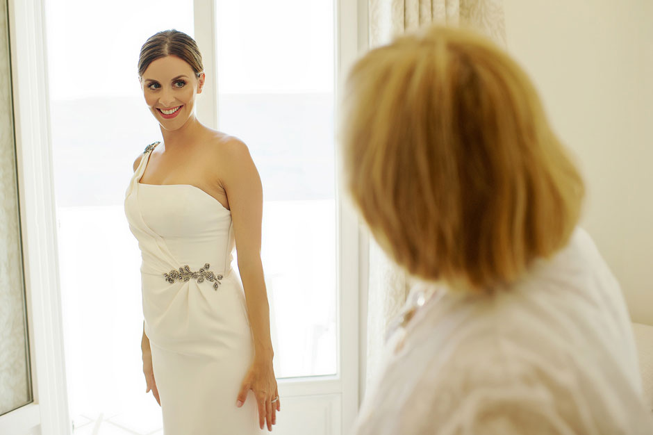 bride preparation and make-up artist