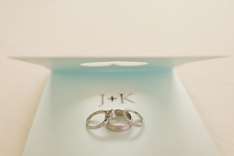 elopement wedding rings in mykonos