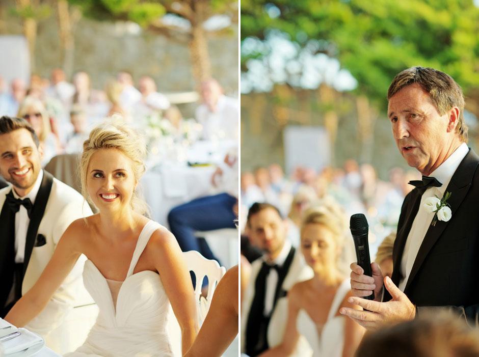 father of the bride speech in mykonos