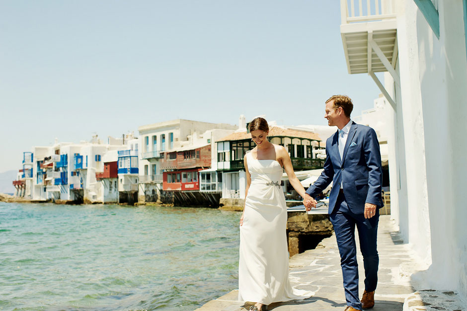 mykonos little venice elopement