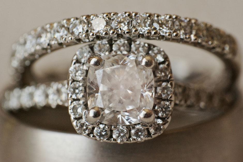 wedding diamond ring in mykonos luxury wedding