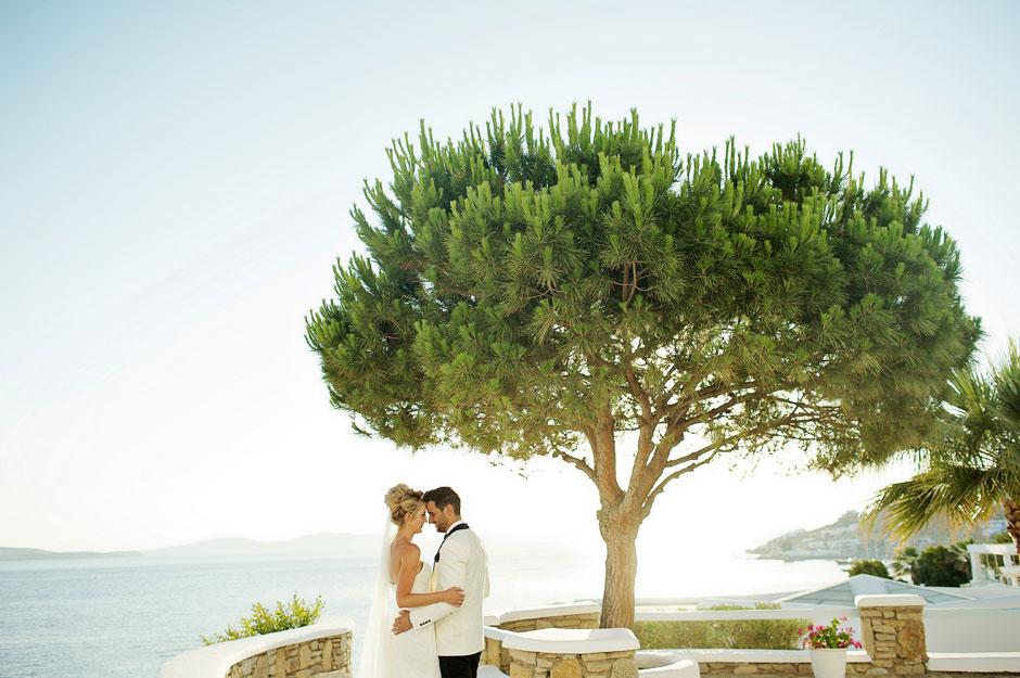 wedding in mykonos photo