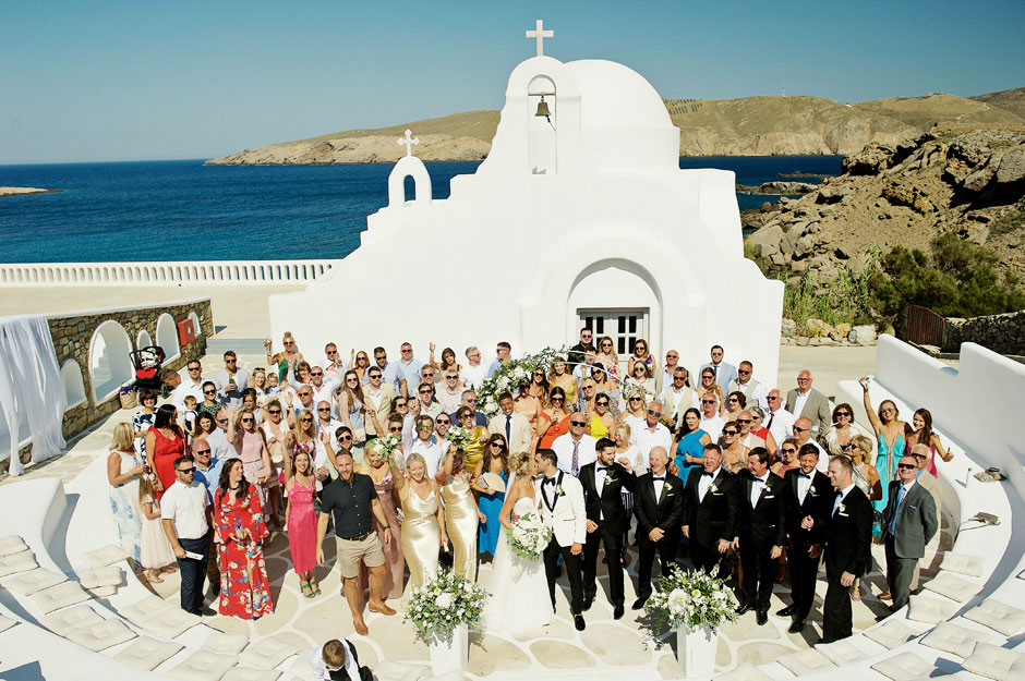 wedding photos in Cyclades