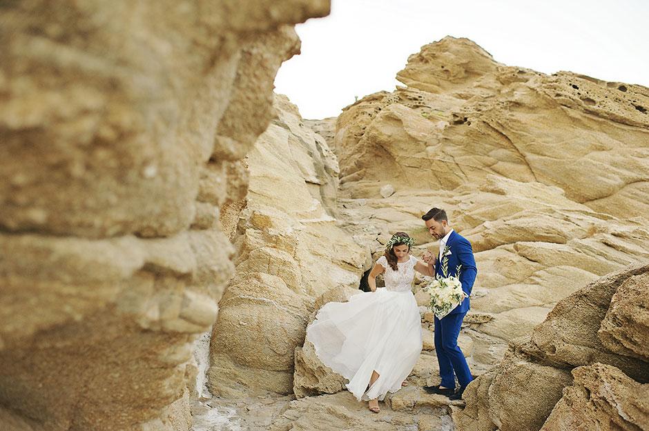 elopement in mykonos greece