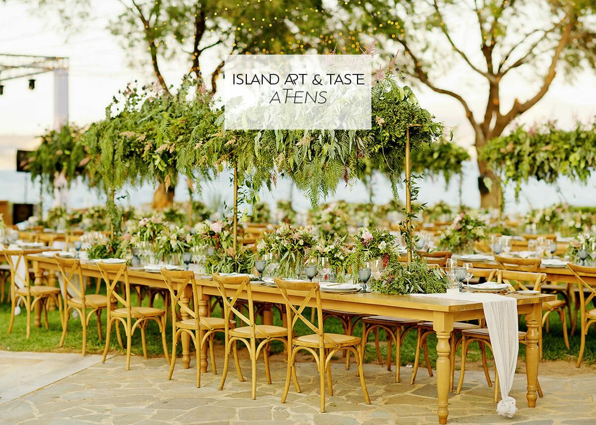 island art taste athens