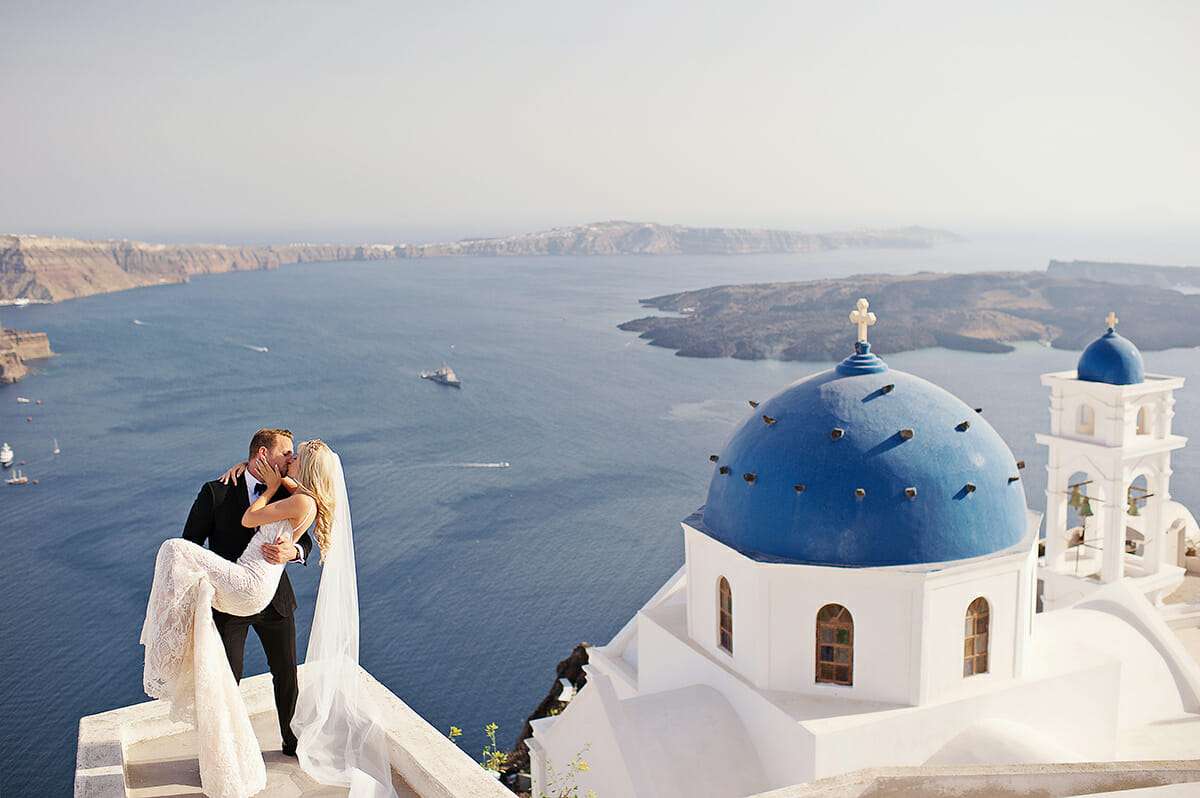 wedding in santorini anastasi chapel