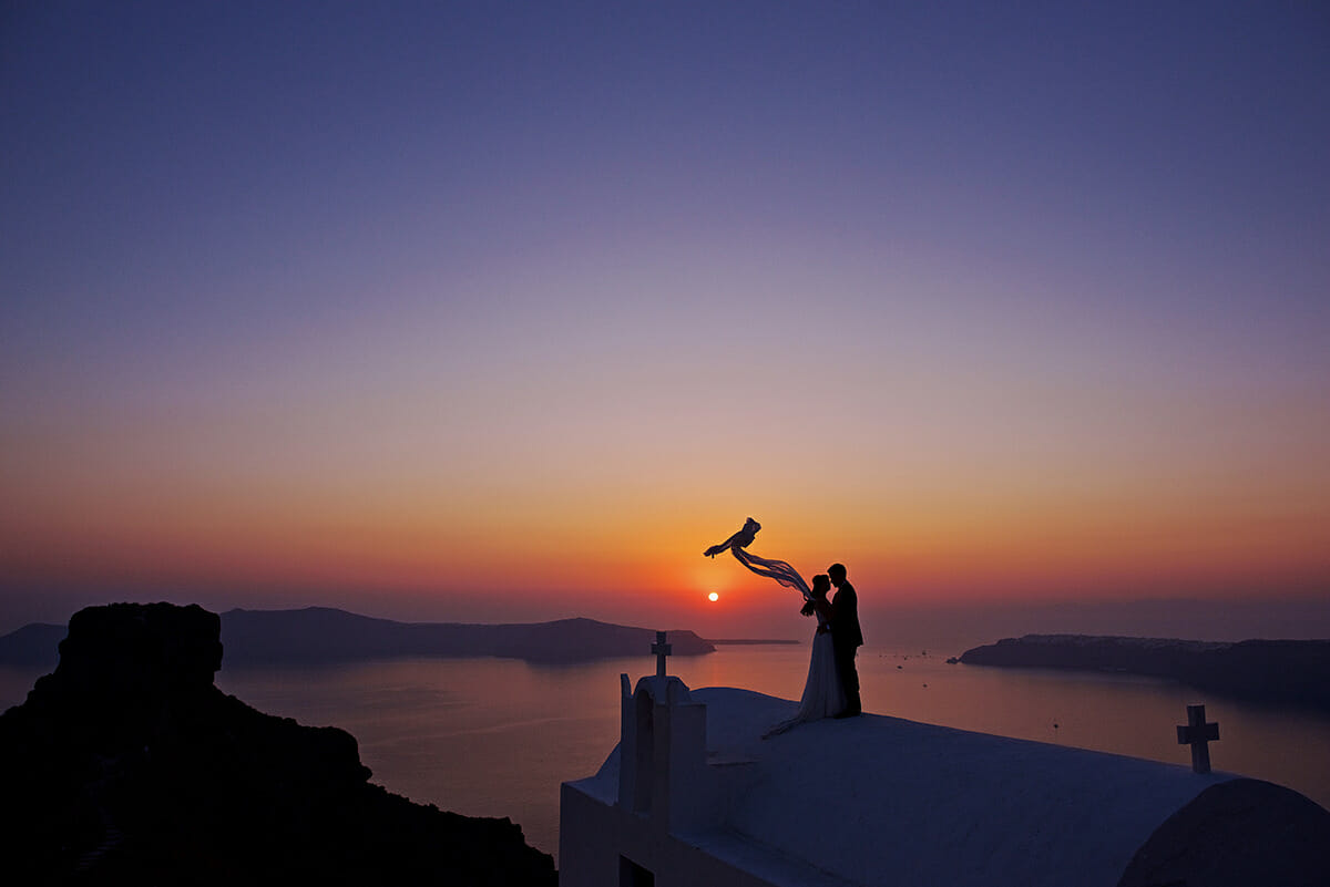 imerovigli wedding venue in greece