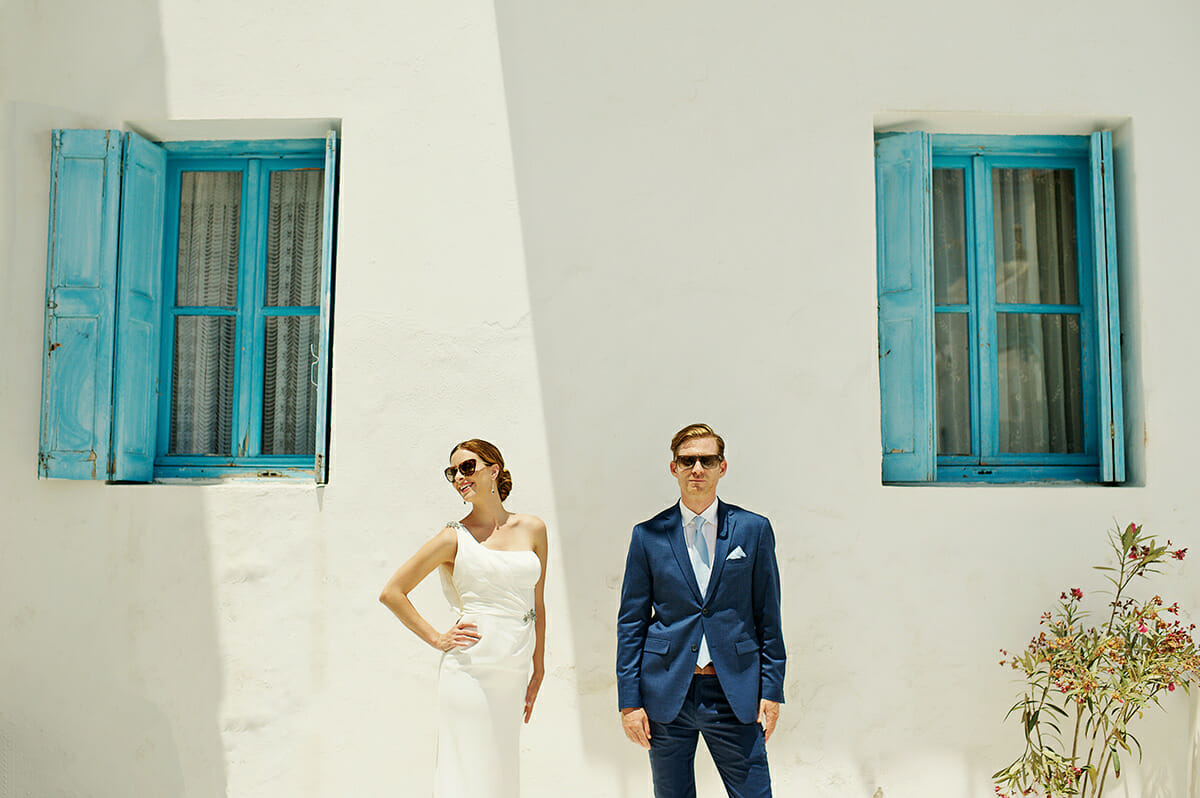traditional wedding photography in cyclades
