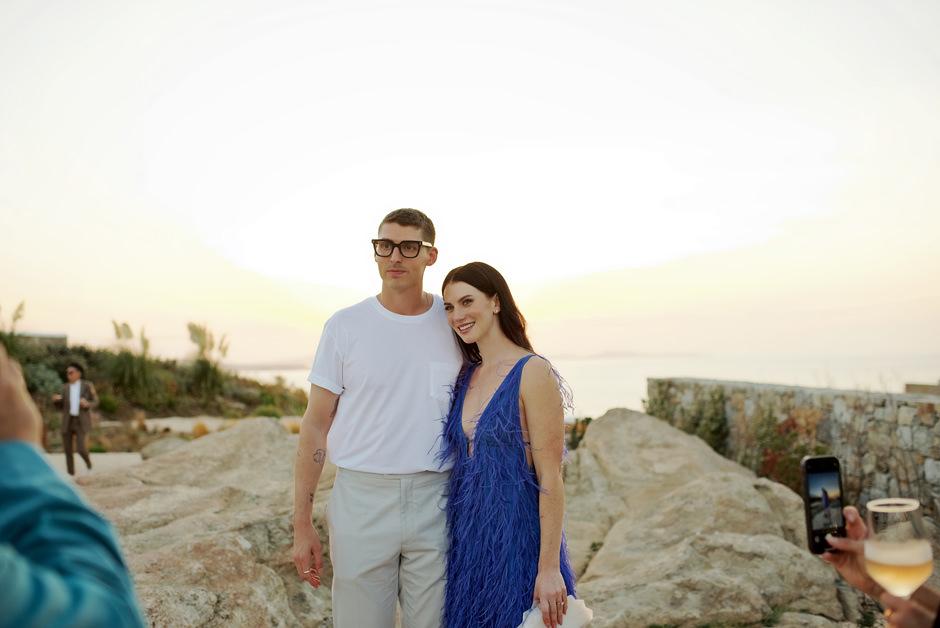 wedding in mykonos kalesma hotel